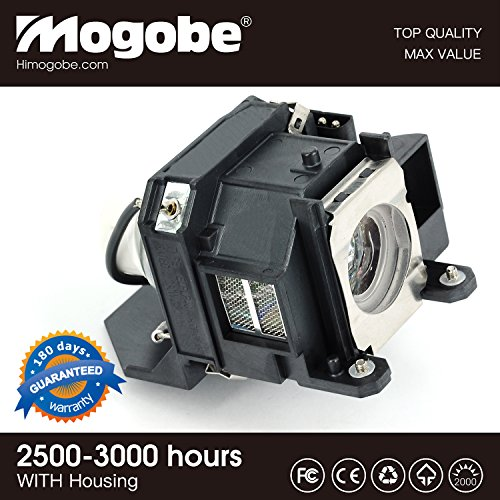 (For ELPLP40 Replacement Projector Lamp with Housing by Mogobe)
