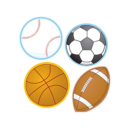 Sports Mini Accent Variety Pack -