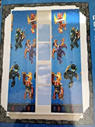 Skylanders Room Darkening Blackout Drape (1 Panel) 42\
