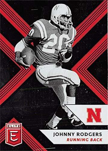 Johnny Rodgers Photograph - Johnny Rodgers football card (Nebraska Cornhuskers) 2018 Panini Elite Draft #55