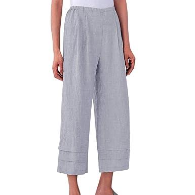 Amuse-MIUMIU - Pantalones de chándal para Mujer, Cintura elástica ...
