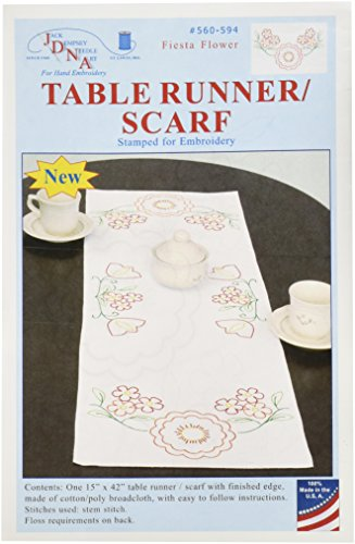 Jack Dempsey 560-594 Stamped Table Runner/Scarf, 15