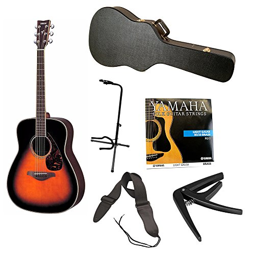 Yamaha Acoustic Guitar Tobacco Sunburst