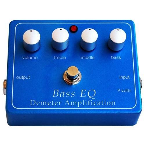 Demeter BEQ-PB Bass EQ Preamp Pedal by Demeter