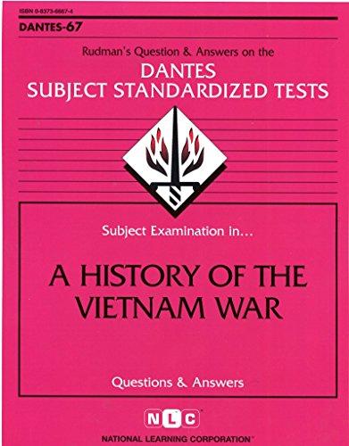 DSST A History of the Vietnam War (Passbooks) (DANTES SUBJECT STANDARDIZED TESTS (DANTES)) by Passbooks