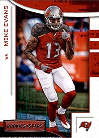 2018 Rookies and Stars Football  89 Mike Evans Tampa Bay Buccaneers  Official NFL Trading Card 9b3eeca17