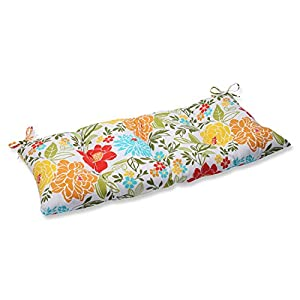 Pillow Perfect Indoor/Outdoor Spring Bling Multi Swing/Bench Cushion