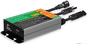 Y&H 350W Grid Tie Micro Inverter MPPT Pure Sine Wave Voc38-50V Input AC90-140V Output for 36V Solar Panel