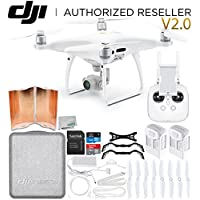 DJI Phantom 4 Pro V2.0/Version 2.0 Quadcopter Essential Flyer Bundle