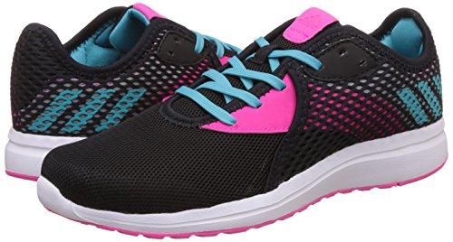 adidas durama 2 k - Zapatillas de deportepara niños, Negro - (NEGBAS/AZUENE/ROSIMP), 4