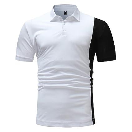 LuckyGirls Camisa Camisetas Originales Hombre Manga Cortos Verano Moda Color de Hechizo Polos Deportivas Blusa Casuales