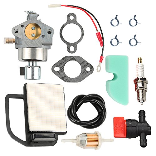 Panari 20 853 33-S Carburetor + 20 083 02-S Air Filter Tune Up Kit for Kohler Courage SV470 SV530 SV540 SV541 SV590 SV591 SV600 SV601 SV610 SV620 Engine Husqvarna Toro MTD Cub Cadet Lawn Mower Tractor