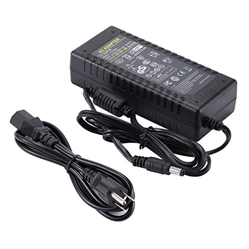 COOLM AC 100-240V to DC 12V 6A Power Supply Adapter Charger 72W with 5.5mm x 2.5mm DC Plug for LED Strips Lighting