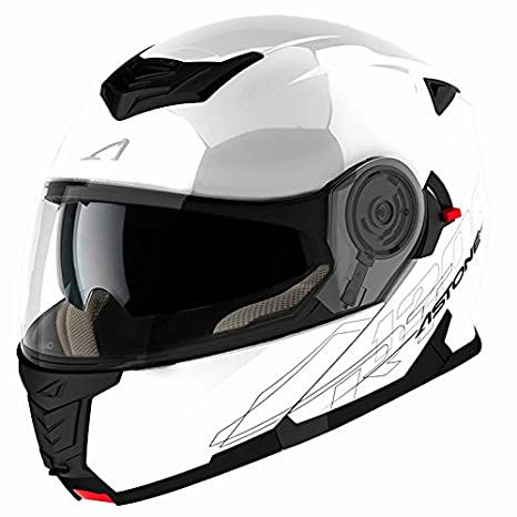 Astone Casque Modulable RT1200, Blanc, XXL RT1200M-WH