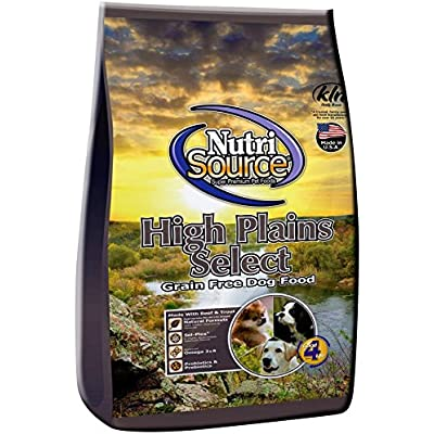 Nutri Source High Plains Select GF Dog Food 30 lb