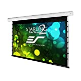 Elite Screens Starling Tab-Tension 2, 135'' 16:9, 6'' Drop, Tensioned Electric Motorized Projector Screen, STT135XWH2-E6