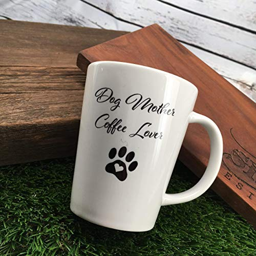 Dog Mother Coffee Lover Mug For Mom Birthday Gift Her Puppy