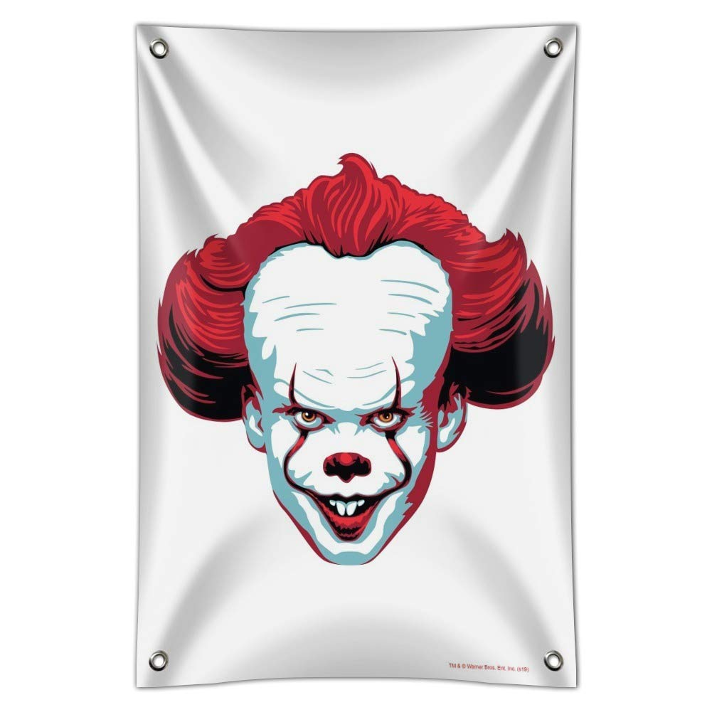 Plastic 45.7cm x 30.5cm 18 x 12 GRAPHICS /& MORE IT Pennywise Come Home Home Business Office Sign