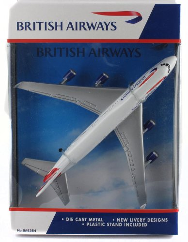 Real Toys BA6264 British Airways Boeing 747-400 Toy by Real Toys PP-BA6264