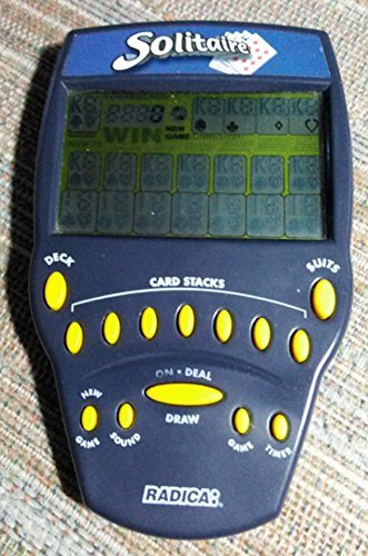 Radica: Solitaire - Electronic Game Radica Handheld