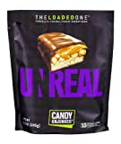 UNREAL The Loaded One Chocolate Caramel Peanut Nougat Bar, Net Wt. 8.5 Ounce