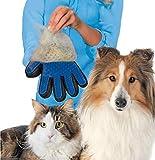 Luva Pente Nano Magnética Tira Pelos Pet Shop Cães Animais Para Escovar Cachorros e Gatos Beleza