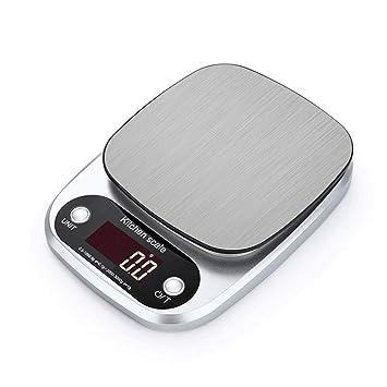 ... para cocina, báscula de cocina con escala electrónica para hornear y cocinar con multifunción para pesar alimentos (pilas incluidas): Amazon.es: Hogar