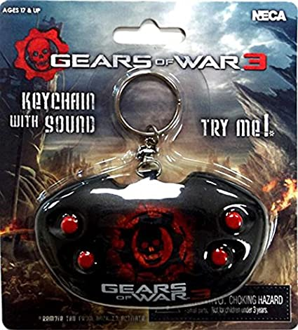 Amazon.com: NECA Gears of War 3 Keychain [With Sound]: Toys ...