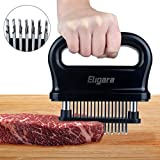 Eligara Meat Tenderizer with 48/21 Stainless Steel Needle Blade, Steak Pork Tenderizers with ABS Safe Plastic, Lightweight & Durable Kitchen Cooking Tool (48 Needle Blade)