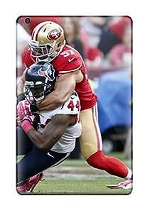Flexible Tpu Back Case Cover For Ipad Mini/mini 2 - 49ers Texans Nfl Football Llpaper