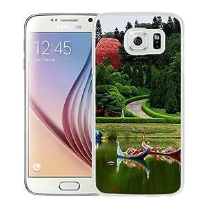 NEW Unique Custom Designed Samsung Galaxy S6 Phone Case With Yuntai Garden_White Phone Case