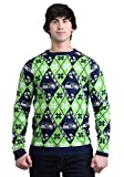 Forever Collectibles Green Bay Packers Candy Cane Sweater