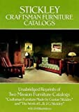 Stickley Craftsman Furniture Catalogs