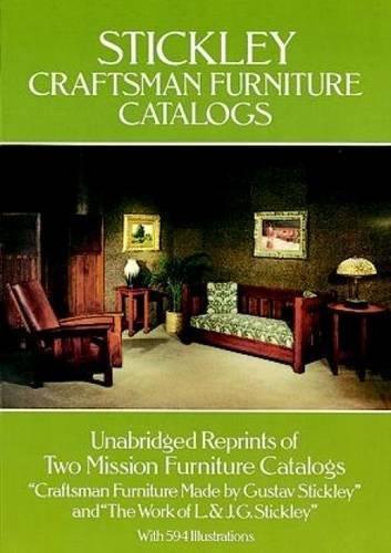 Stickley Craftsman Furniture Catalogs
