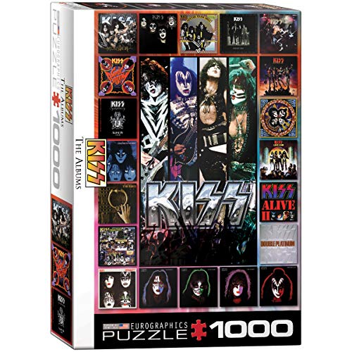 KISS The Albums 1000-Piece - Rock Kiss Band