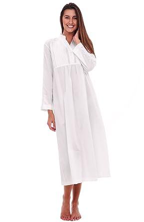 e050ca2494 Alexander Del Rossa Womens Guinevere Cotton Nightgown