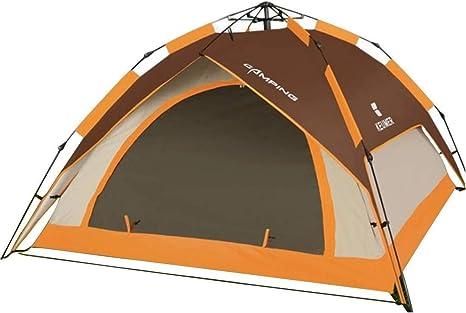 Wangwen Tienda De 3 Personas O 4 Personas For La Tienda De Campaña De Camping Salvaje: Amazon.es: Deportes y aire libre