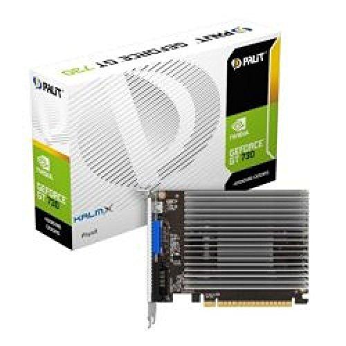PALIT GT730 KalmX 4GB DDR5 PCIe2 VGA DVI Mini HDMI Passive 0dB
