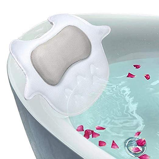 ALTINOVO Almohada de baño Antideslizante para bañera, Cojín para ...