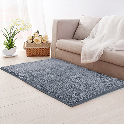Mohawk Home Decorators ([Updated] LOCHAS Microfiber Non-slip Area rugs Living Room Carpets Suitable for Bedroom Rug 3.9' x 2.6',)