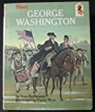 Front cover for the book Meet George Washington (Step-Up Books) by Joan Heilbroner