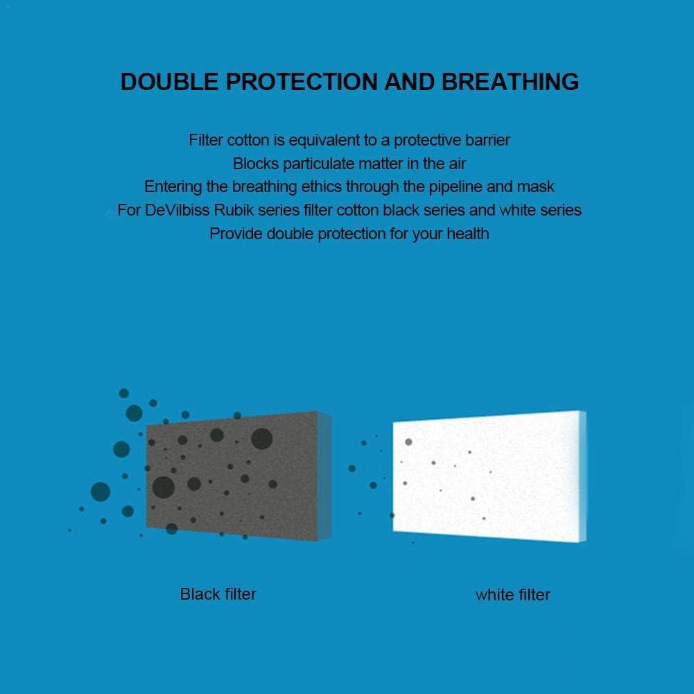 filtros de m/áquina CPAP Profesional 6 Piezas Azul y Blanco para la Serie S7 S8 de ResMed Filtros CPAP