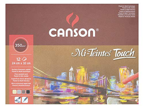 Pad Teintes Mi - Canson Mi-Teintes Touch Assorted Pads - 9.5
