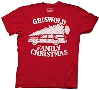 Amazon.com: Christmas Vacation Griswold Family Christmas Red Adult ...