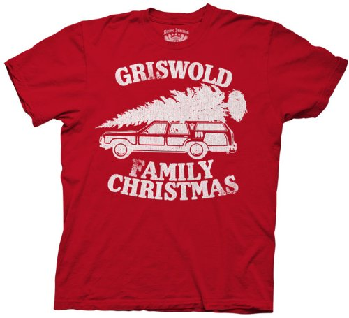 christmas vacation griswold family christmas red adult t shirt tee s