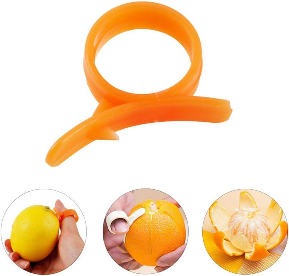Eplucheur orange citron outil ustensile pour éplucher les oranges facilement