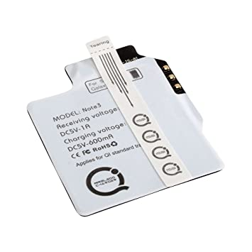 Ansmann - Receptor de Carga inalámbrica Qi para Samsung Galaxy Note 3, Negro
