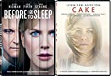 Cake & Before I Go To Sleep DVD Drama Movie Set Nicole Kidman + Jennifer Aniston