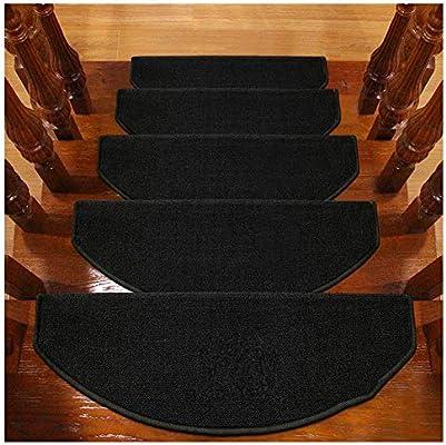 Alfombras de Escalera Alfombrillas para Escalón Tapetes Cojines Piso Mat Alfombras para Escaleras Antideslizantes Y Adhesivas 6mm 5 Tamaño (Color : F, Size : 5PCS 24X90CM): Amazon.es: Hogar