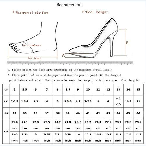 B B B XHX High Heels, femmes High Heel, Gradient, Pointed Toe High Heel, femmes chaussures Stilettos,A,45 dbb